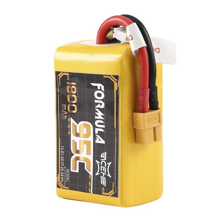 Acehe Batterie Lipo Akku 1800mAh 4S 95C Formula Serie - Pic 1