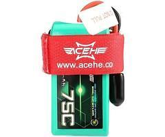Acehe Batterie Lipo Akku 650mAh 4S 75C XT30
