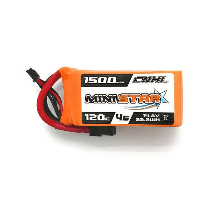 CNHL Ministar Batterie Lipo Akku 1500mAh 4S 120C - Pic 1