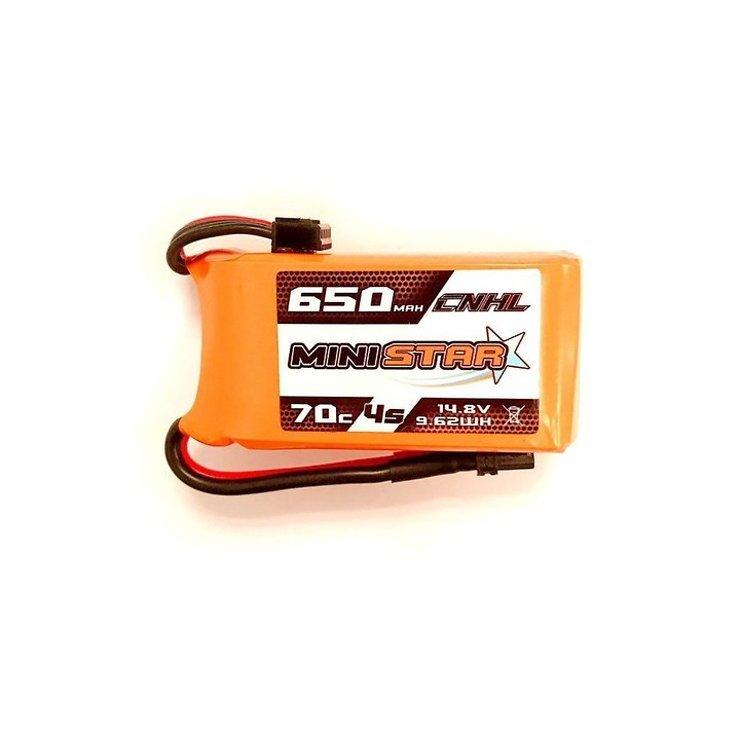 CNHL Ministar Batterie Lipo Akku 650mAh 4S 70C - Pic 1