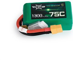 Acehe Batterie LiPo Akku 1300mAh 4S 75C