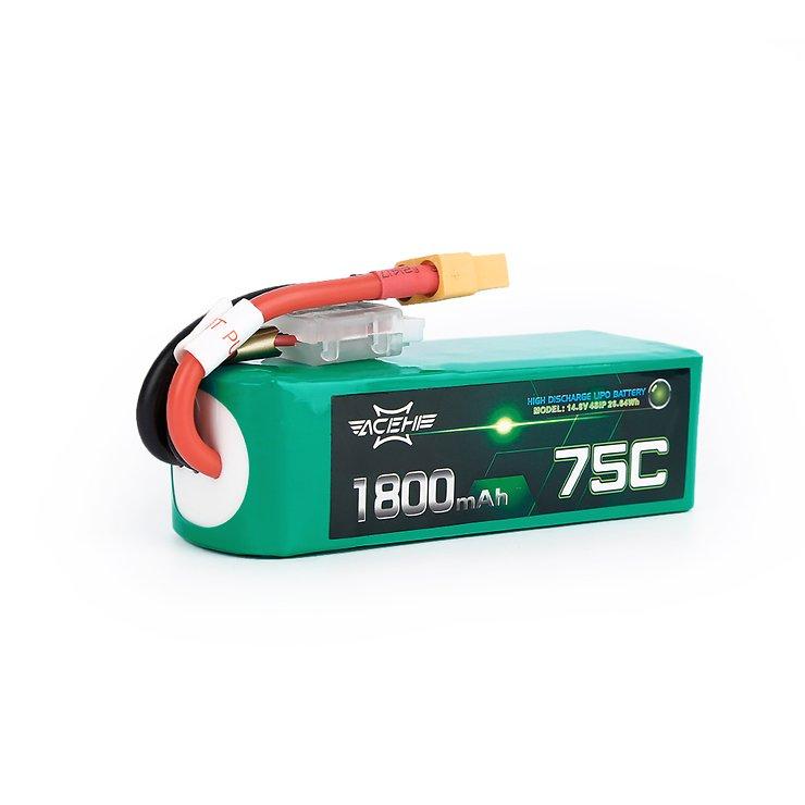 Acehe Batterie LiPo Akku 1800mAh 4S 75C - Pic 1