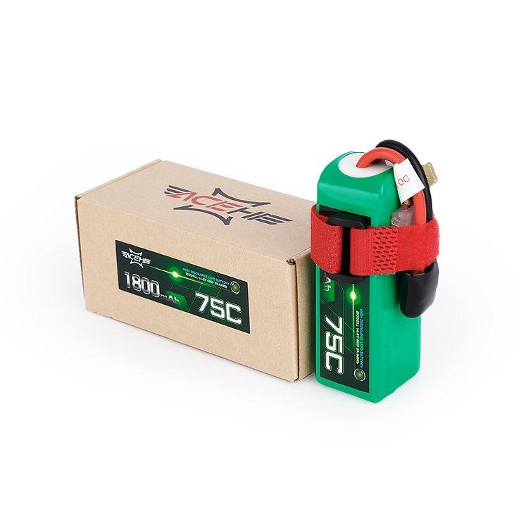 Acehe Batterie LiPo Akku 1800mAh 4S 75C - Pic 4