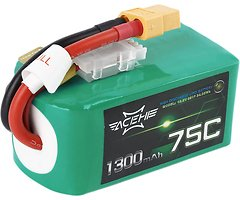 Acehe Batterie LiPo Akku 1300mAh 5S 75C
