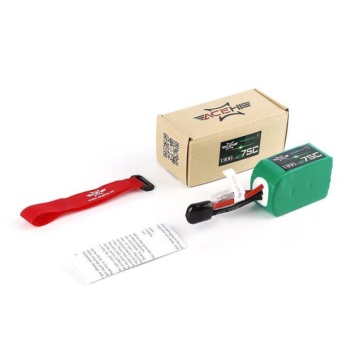 Acehe Batterie LiPo Akku 1300mAh 6S 75C - Pic 4