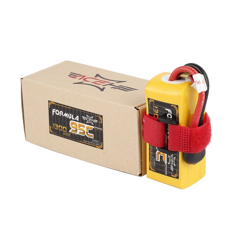 Acehe Formula Batterie LiPo Akku 1300mAh 4S 95C - Pic 5