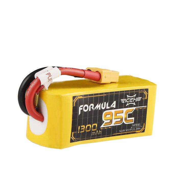 Acehe Formula Batterie LiPo Akku 1300mAh 4S 95C - Pic 1