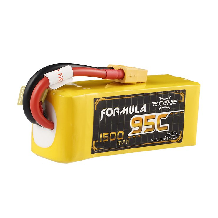 Acehe Batterie LiPo Akku Formula Lipo Akku 1500mAh 4S 95C - Pic 1