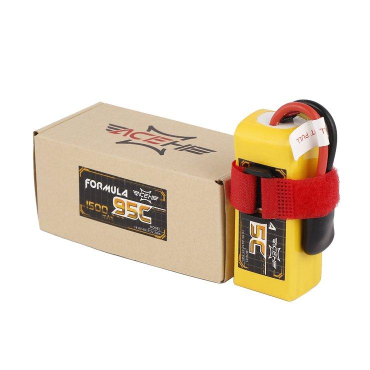 Acehe Batterie LiPo Akku Formula Lipo Akku 1500mAh 4S 95C - Pic 5