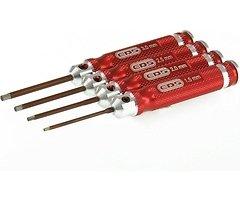 EDS Mini Innensechskantschlüsselset - 4 Stk 1.5-3mm