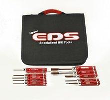EDS Werkzeugset 10 Teilig  für Helicopter mit Tasche