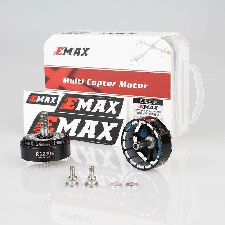 Emax Motor Glocken Set mit Magneten und Schrauben für RS2306 Motoren in schwarz - Pic 2
