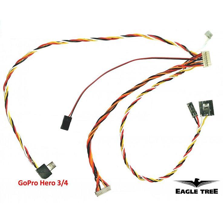 Eagle Tree Plug & Play AV Kabel für GoPro - Pic 1