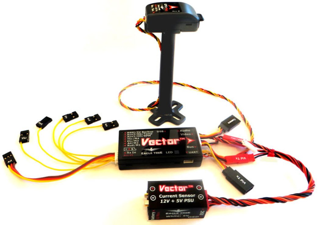 Eagle Tree Vector Flight Controller + OSD - Pic 2