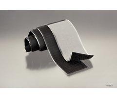 FASTECH FAST-Tape Klettband selbstklebend Haken- & Flauschteil - 50 x 500 mm schwarz