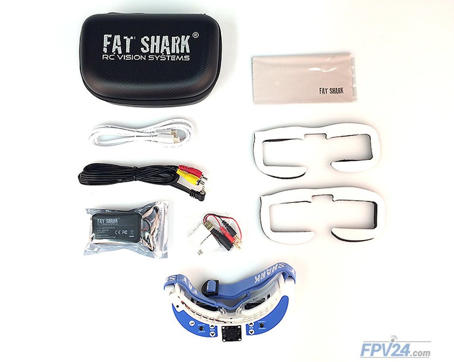 Fatshark Dominator V3 FPV Videobrille mit 32 Kanal OLED Empfänger Modul - Pic 9