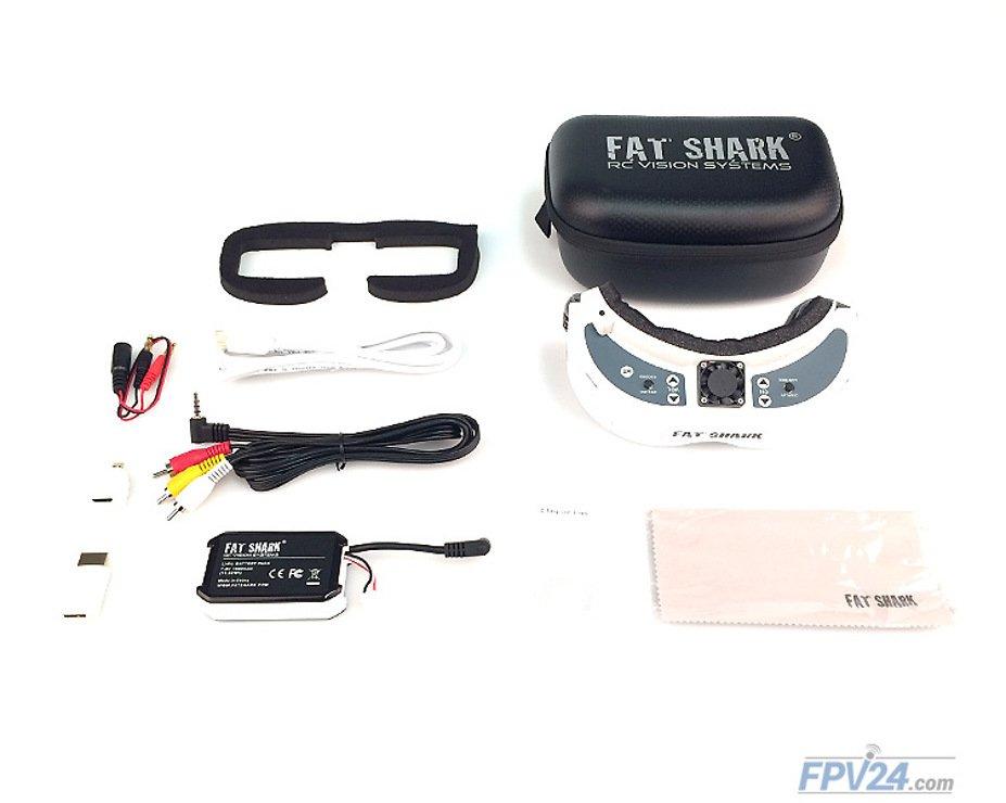 Fatshark Dominator HD V2 FPV Videobrille - Pic 6
