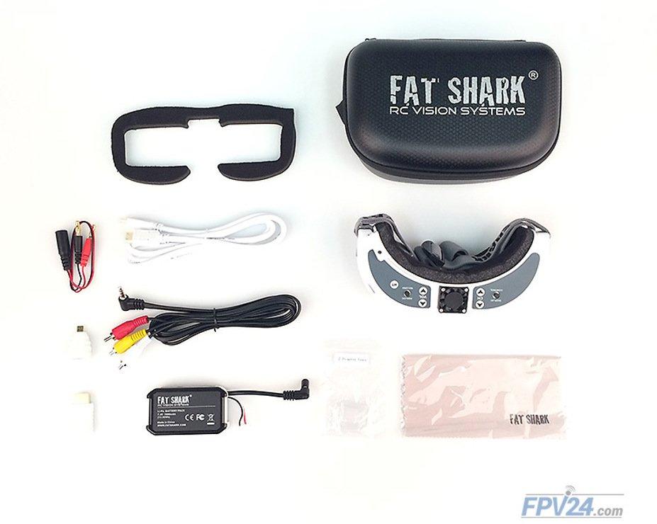 Fatshark Dominator HD V2 FPV Videobrille - Pic 5