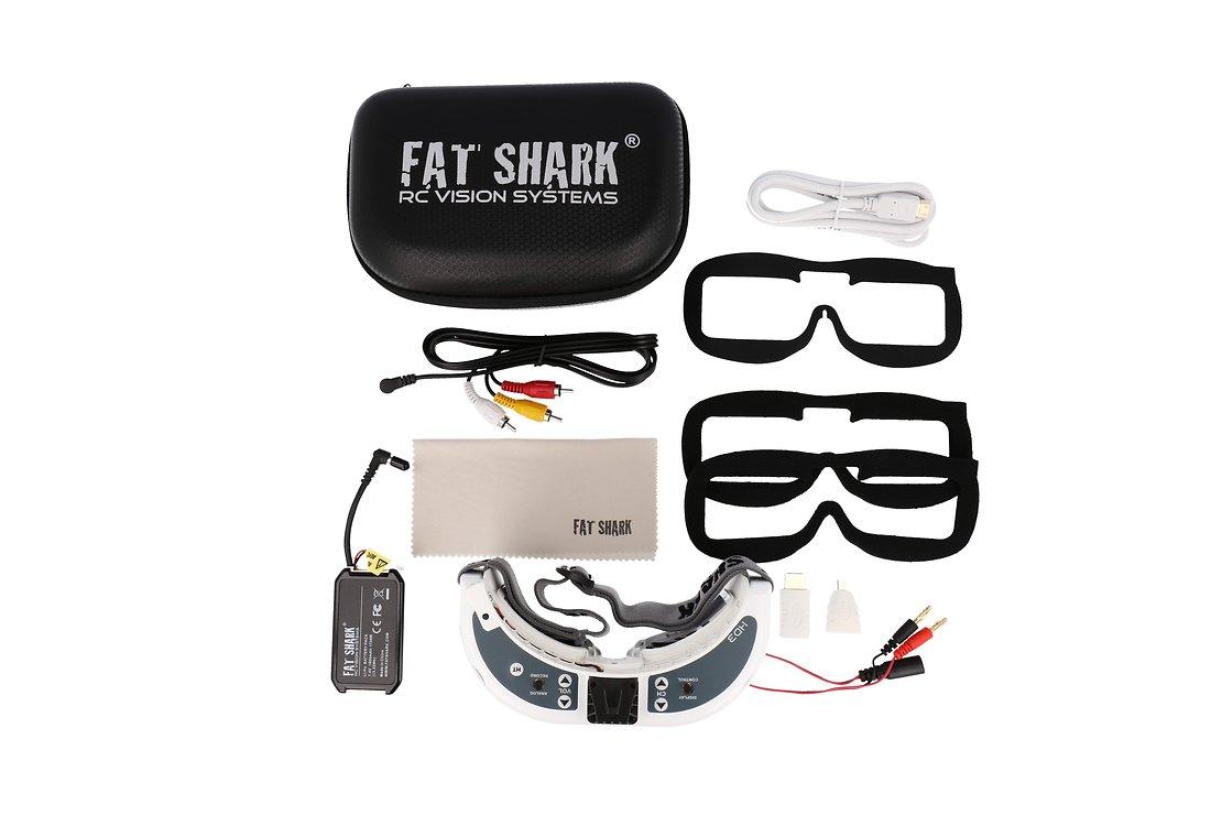 Fatshark Dominator HD 3 FPV Videobrille - Pic 4