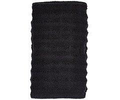 Zone Denmark Handtuch Prime 100 x 50 cm Baumwolle schwarz