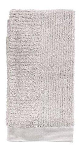 Zone Denmark Handtuch Classic 50 x 100 cm Baumwolle hellgrau