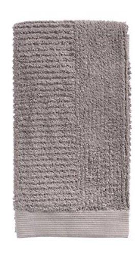 Zone Denmark Handtuch Classic 50 x 100 cm Baumwolle taubengrau