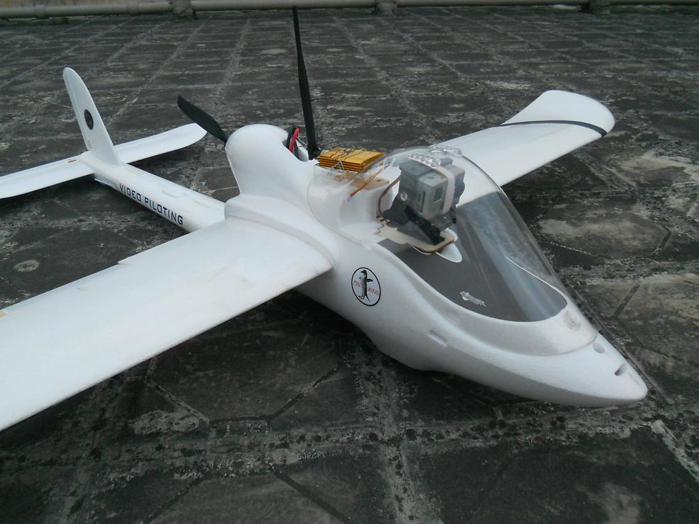 FinWing Penguin FPV Flugzeug ARF Version (FUP1205ARF) - Pic 4