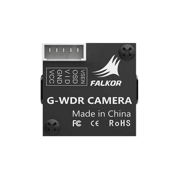 FOXEER Falkor Micro FPV Videokamera 1200TVL M8 1,8 Linse Schwarz - Pic 2