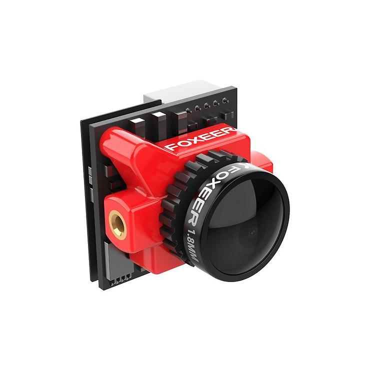 FOXEER Falkor Micro FPV Videokamera 1200TVL M8 1,8 Linse Rot - Pic 1