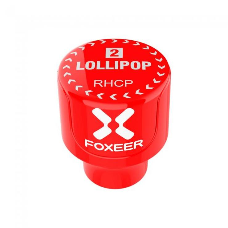 FOXEER Lollipop 2 Stubby Antennen Set RHCP SMA Rot AXII - Pic 2