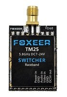 Foxeer TM25 Switcher FPV Videosender mit Raceband RPSMA