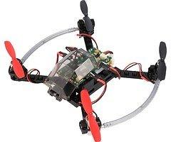 FLY-GO ARF Drohne schwarz mit Fernsteuerung KOMPLETTKIT