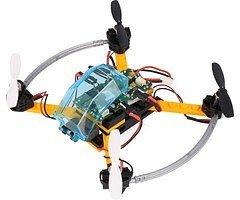 FLY-GO ARF Drohne schwarz orange mit Fernsteuerung KOMPLETTKIT