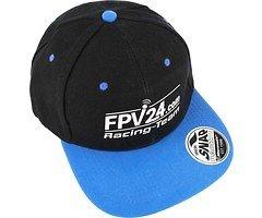 FPV24.com Team Basecap schwarz blau