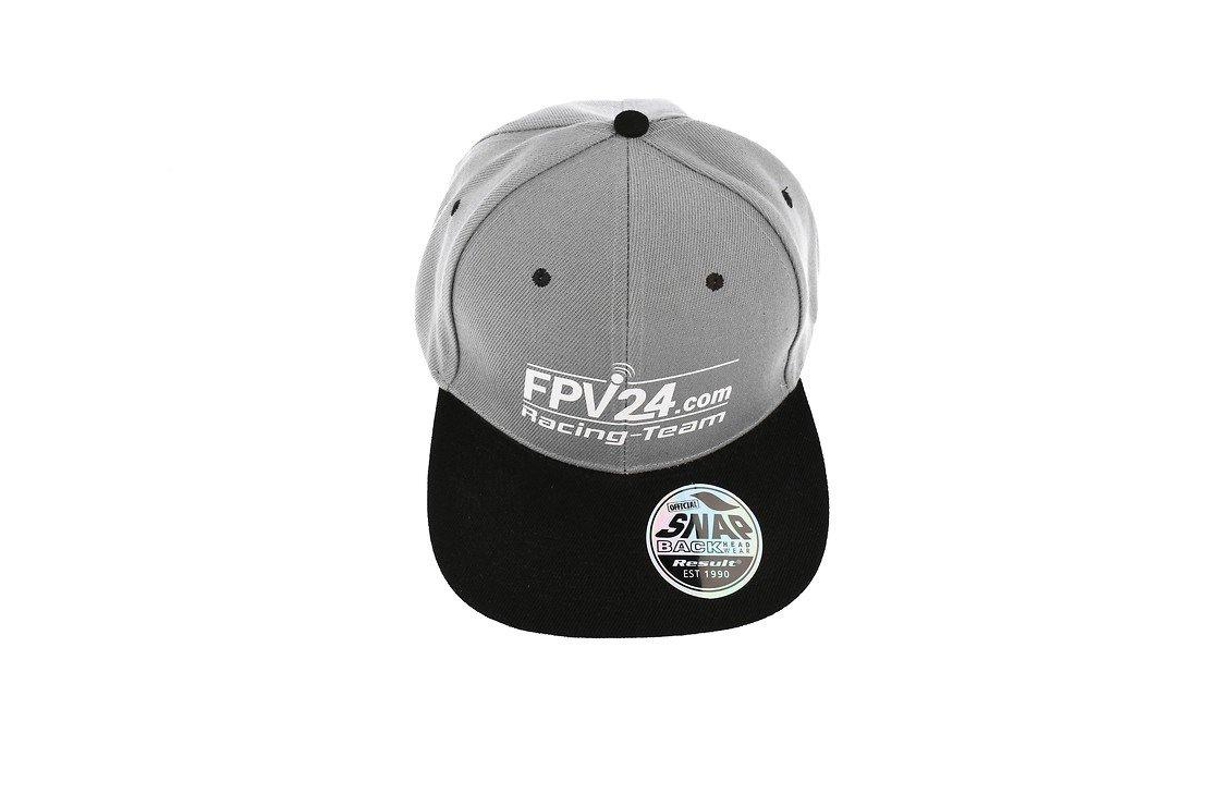 FPV24.com Racing Team Basecap grau schwarz - Pic 4
