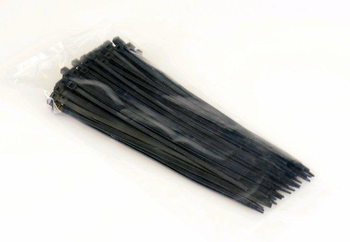 Kabelbinder schwarz 3,6 x 200mm 100 Stück