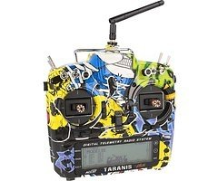 FrSky Taranis X9D Plus SPECIAL EDITION mit M9 Hall Sensor Gimbal + Rock Monster Hülle + Soft Case