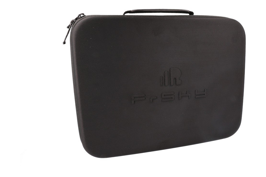 FrSky Taranis X9D Plus SPECIAL EDITION mit M9 Hall Sensor Gimbal + Rock Monster Hülle + Soft Case - Pic 3