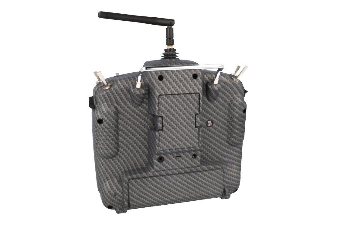 FrSky Taranis X9D Plus SPECIAL EDITION mit M9 Hall Sensor Gimbal + Matt Carbon Fiber + Soft Case - Pic 2