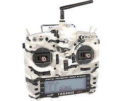 FrSky Taranis X9D Plus SPECIAL EDITION mit M9 Hall Sensor Gimbal + Camouflage + Soft Case