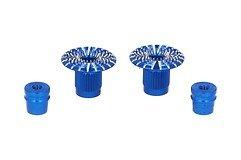 FrSky CNC Alu M3 Gimbal Stick End Umbrella Blau