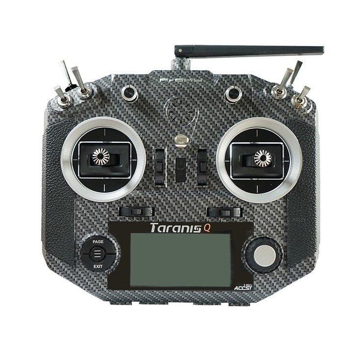 FrSky Taranis Q X7S Fernsteuerung Mode2 Carbon und Soft Bag - Pic 1