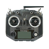 FrSky Taranis Q X7S Fernsteuerung Mode2 Carbon und Soft Bag