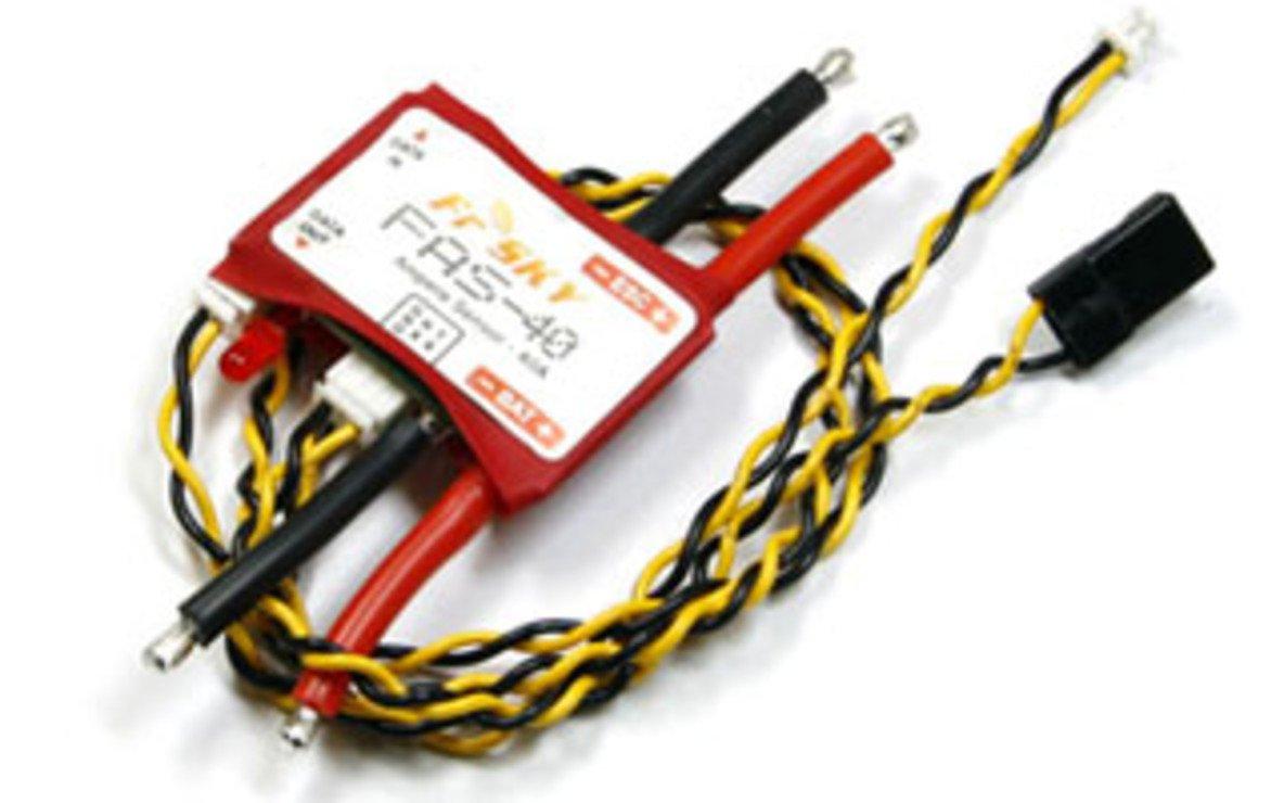 FrSky FCS-150A - Strom Sensor 150 Ampere - Pic 1