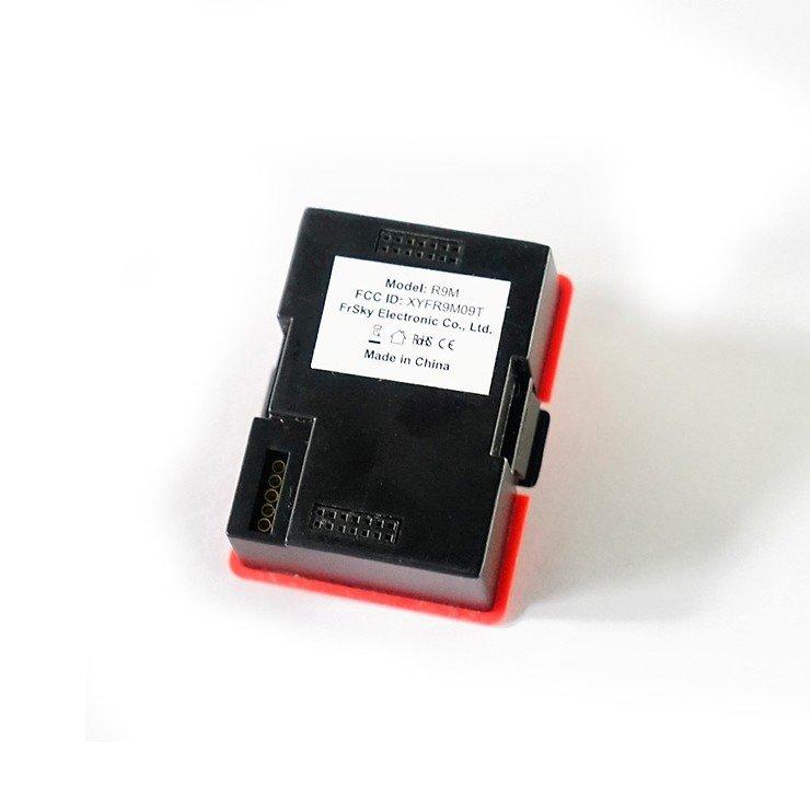 FrSky R9M Longrange Sende Modul in Rot mit Antenne - Pic 3
