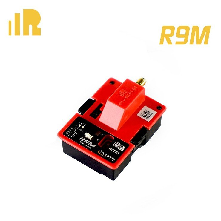 FrSky R9M Longrange Sende Modul in Rot mit Antenne - Pic 2
