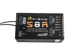 FrSky S8R Empfänger m. 3-Achsen Stabilisation 8 Kanal und Telemetrie