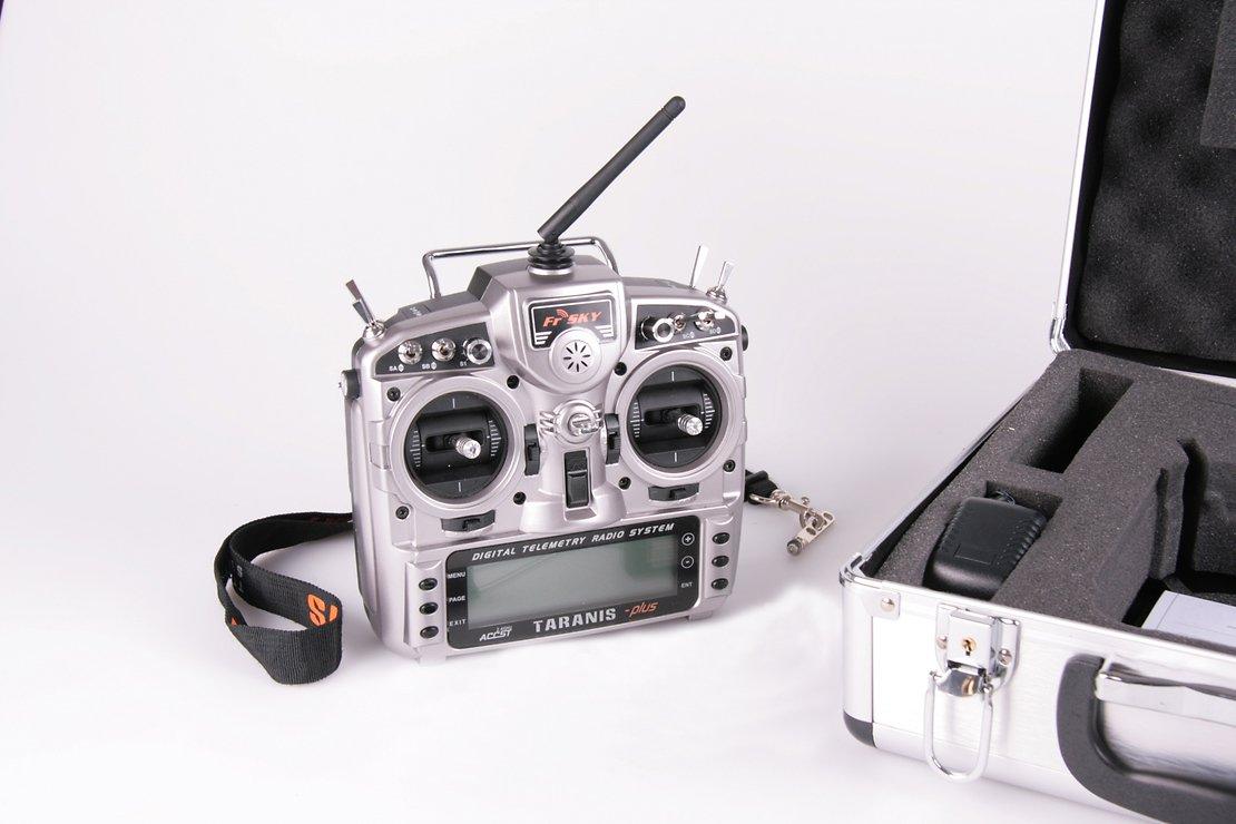 FrSky Taranis X9D Plus + Alu Case - Pic 2