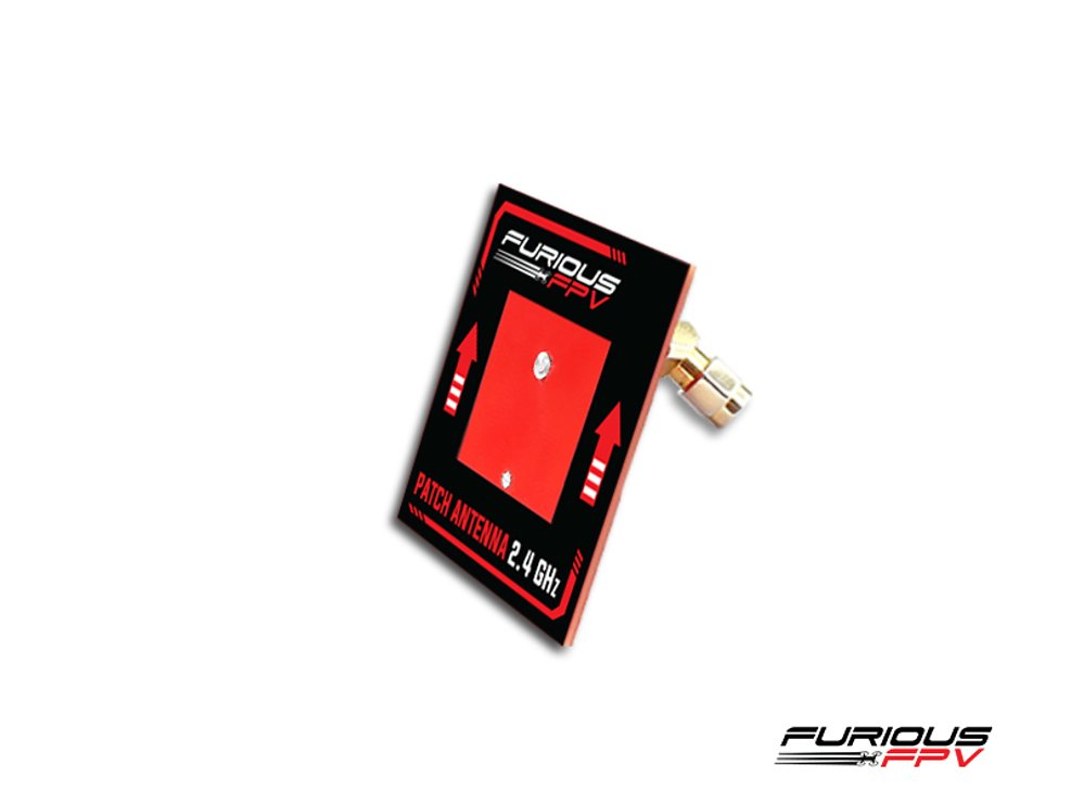 Furious FPV Antenne Patch 2.4 GHz SMA - Pic 2