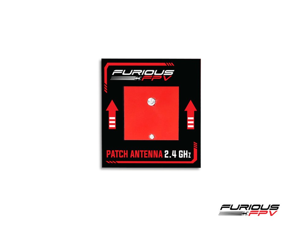 Furious FPV Antenne Patch 2.4 GHz SMA - Pic 1
